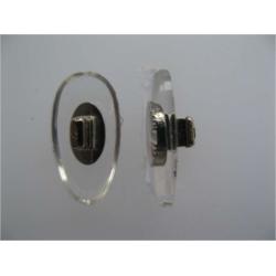 PLAQ.A CLIP. PVC SYM. INS. NI. 12 MM 10 PR