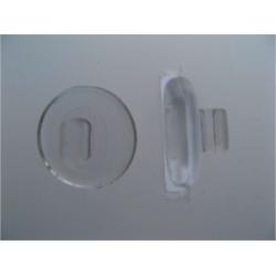 PLAQUETTE A CLIP. SYMETRIQUES PVC INSERT PLAST.