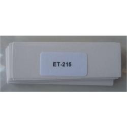 ETIQUETTES PLAS. 80 x 26 (20 PCS)